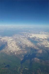 Norwegen aus der Luft