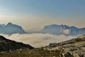 Senja Mefjord Wolken
